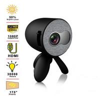 YG220 Mini Projecteur prend en charge le téléphone portable avec le même écran 1080p Projecteur multimédia Video Player Video Cadeau cadeau Portable Pocket Pocket Beamer