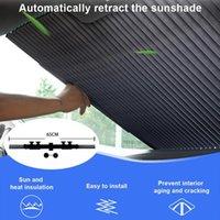 Nuovo aggiornamento 65CM del parabrezza dell'automobile Parasole Parasole UV Reflector resistente al calore per mantenere la calma veicolo