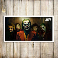 Le Joker Affiche du film Wall Art Toile Peinture murale Art pour Salon Home Decor (Frame No)
