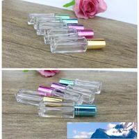 5ml en verre transparent Parfum Vaporisateur pour la place rechargées Bouteilles Huile Essentielle maquillage Fournitures d'expédition rapide F289