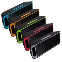 USB SC208 Мини Портативный Bluetooth Динамики Беспроводной Громко Музыкальный плеер Большой мощности Сабвуфер Поддержка TF FM-радио
