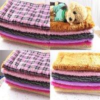 Dirençli Yün Battaniye Yumuşak Köpek Kennel Zengin Renk Pet Yastık Kalınlaştırıcı Kedi Köpek Aksesuarları Evcil Isınma 9 5gg E2 Malzemeleri Bite