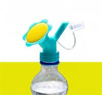 جديد الباحة 2IN1 البلاستيك الرش الخرطوم لزهرة Waterers زجاجة سقي علب الرش دش أدوات البستنة رئيس