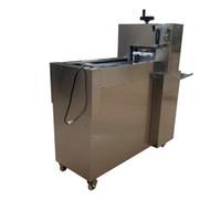 yapma makinesi Tam otomatik dikey yüksek verimli et kesici CNC çift kesme koyun eti rulo makinası paslanmaz çelik kuzu rulo