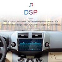 4G + freeshipping 64G 9 '' 2DIN Android 9.0 Lecteur DVD de voiture pour Toyota RAV4 Rav 4 2007 2008 2009 2010 2011 Navigation GPS Radio voiture Wifi Lecteur