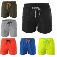 Mens-Sommer-Strand-Hosen neue beiläufige Shorts Hot Pants Sport Thin Junge Casual Male Short Board Shorts