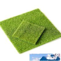 Prato Grass falso Moss miniatura ornamento del giardino fai da te funghi mestiere Pot Fata artificiale per c462 decorazione di cerimonia nuziale del partito di natale