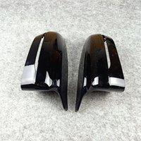 1 пара автомобильных зеркал крышки для 5 серии G30 G38 G11 G12 ABS ABS Зеркало заднего вида только левый привод