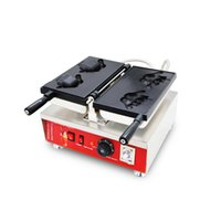 Shaka-Bom küçük elektrikli Taiyaki Waffle Cone Maker Yapma Makinesi