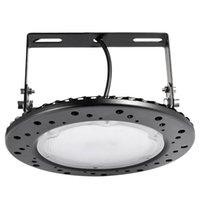 미국 주식 UFO LED 높은 베이 빛 높은 전력 200W IP65 방수 야외 교수형 공장 체육관 조명 워크샵