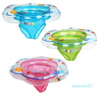 Wholesale-New Arrival Hot Sale 52*21Cm Baby Pool Float Toy Infant Ring Toddler Inflatable Ring Baby Float Swim Ring Sit in Swimming pool