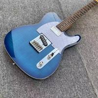 Blau Boutique Chinese Al Holz E-Gitarre, GRAPH TECH TUSQ Mutter, GALLISTRINGS