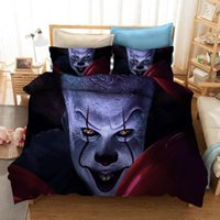 Stephen King E 3D Stampato Bedding Set Copripiumini Biancheria Federe Comforter Bedding bedclothes