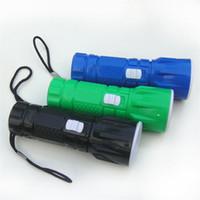 Plastik Lambası Led Fener Ölçeklenebilir Güçlü Işık Taktik Fener Elektrik Lamparas Torch Çakmak Karartma ayarlayın Dış Mekan 0 85cl c2