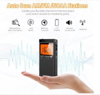 Mini Taşınabilir Dijital Görüntü FM AM Radyo Bulit Lityum Pil Küçük Stereo Radyo USB Bağlantı Noktası Manuel Otomatik Hafıza Otomatik Tarama Alarmı Şarj