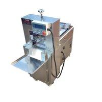 Verkaufen Elektro CNC einzigen Schnitt Lammrollmaschine Rindfleisch Schneidemaschine Multifunktions Hot Pot Lammrollschneidemaschine Einfrieren