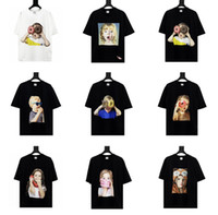 مصمم Fashion- أكمي دي لوس انجليس لنافس ADLV العلامة التجارية أعلى جودة النساء الرجال تي شيرت أزياء طبع المحملات قصيرة الأكمام