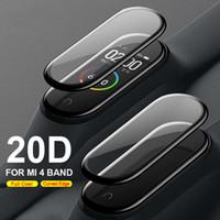 20D Gebogen rand Bescherming voor Xiaomi MI Band 4 Glas Krasbestendig Miband 4/5 Film Volledige Cover HD MI BAND 4 SCREENBONDSOR (RETAIL)