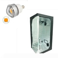 100 * 100 * 200 Reflective Mylar hidroponia Crescer Tenda E27 70W Full Spectrum CXB3590 COB LED planta crescer luz Kit