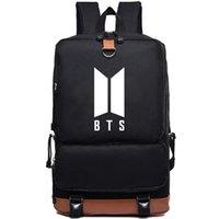 حقيبة فتيان بانقتان المدرسة BTS ظهره كوريا موسيقى الكشافة Daypack حقيبة الكمبيوتر المحمول حقيبة المدرسية في الهواء الطلق حزمة يوم الرياضة