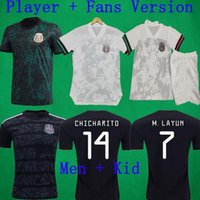2020 Player Version Jerseys 20 21 MEXICO Soccer Jersey CHICH...