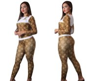Women Tracksuits Long Sleeve Loui̴ sVuitton Top Pants Wo...
