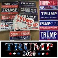 Donald Trump 2020 autoadesivi Bumper Sticker Conservare rendere l'America Grande decalcomania Car Styling veicolo Paster Banner feste IIA264