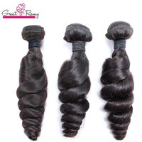 Greaturemy 100% brasileiro trama de cabelo humano 3 pacotes remy cabelo humano trama solta onda de onda drop frete cor natural tingeable cabelo barato pacotes