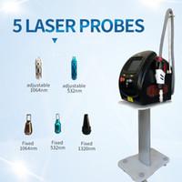 mais novo de remoção de tatuagem sobrancelhas tipo 1064nm do laser pico portátil do laser do interruptor q nd yag de tatuagem a laser removedor de mancha de beleza dispositivo escuro removedor