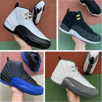 2020 أحذية 12S كرة السلة أحذية أحذية رياضية بنين أحذية بنات الفرنسية الأزرق ماجستير تاكسي الرياضة هدية عيد ميلاد