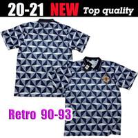 90/93 versão Retro equipa nacional de futebol da Irlanda do Norte Soccer Jersey 1990/1993 Irlanda afastado manga curta camisa de futebol uniforme