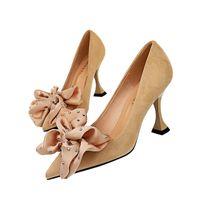 2020 Spring Wedding Shoes nuove donne pompa i pattini alla moda sexy del vestito convenzionale scarpe alta tacchi a spillo Office Party Female Shoe