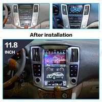 FREESHIPPING تسلا أسلوب الروبوت 9.0 سيارة الملاحة GPS لكزس RX300 RX330 RX350 2004-2007 رئيس وحدة الوسائط المتعددة مسجل لاعب السيارات الشريط