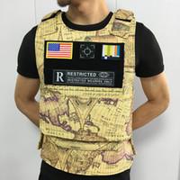 Vêtements PVC carte gilet moto gilet de protection tactique