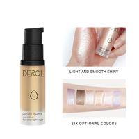 Neza 3D контурная осветление Smooth Highlighters Крем Блеск Cosmetic Liquid Glow Shimmer Bronzer Лицо Тело Тени для век Макияж Liquid Shi
