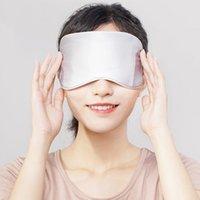العلاج الأصلية Xiaoda الحرارة العين قناع نسيج الحرير السريع التدفئة ثلاثة سرعة التحكم في درجة الحرارة تخفيف التعب أقنعة النوم