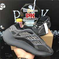 En Kaliteli 700 Teal Mavi Erkekler Bayan 3 M Static Yansıtıcı Koşu Ayakkabıları Alvah Azael Erkek Açık Plat Spor Trainer Sneaker Kutusu Boyutu 36-48 EUR