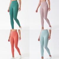 Color Sólido Mujer Estilista Leggings Gimnasio Alto Gimnasio Desgaste Elástico Fitness Dama General Mallas Completas Entrenamiento Entrenamiento Para Mujer Pantalones De Pantalones De Yoga Pantalones