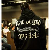 20ss 안개 하나님에 대한 두려움 하나님의 필수 hoodie 3M 반사 편지 인쇄 패션 높은 거리 캐주얼 풀오버 스웨터 hfsswy008
