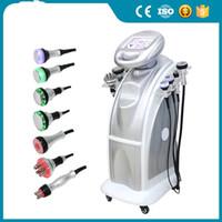 Forma de cavitación de 80k adelgazante RF Ultrasonic Lipo Vacuum Pérdida de peso de la pérdida de peso Sculpit Máquina de belleza Envío gratuito y FTAX