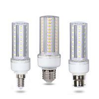 12PCS 핫 E27 / E14 / B22 옥수수 램프 전구 SMD5730 LED 라이트를 들어 홈 장식 에너지 절약 전구 홈 샹들리에 조명 AC85 ~ 265V.