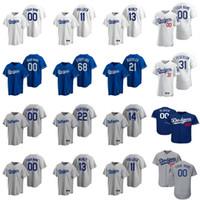 Baseball-Trikots Womens Cody Bellinger Jersey 22 Clayton Kershaw 5 Corey Seeger 10 Justin Turner 50 Mookie Betts A.j. Pollock Custom Stitche.