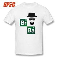 Rompiendo malas camisetas de manga corta moda 100% algodón masculino camiseta cuello redondo más reciente camisetas