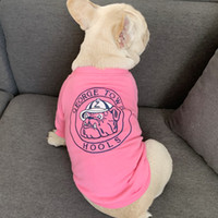Dog coat fashion letter embroidery pet T- shirt Teddy Snow Na...