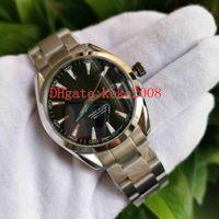 Лучшие качества мужчин Наручные часы 41.5mm Aqua Terra 150M 231.10.39.21.03.002 сталь 316L Азии CAL.8500 движения Автоматические Мужские часы Наручные часы