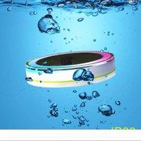 Solare piscina all'aperto LED luci RGBW a colori 24 LED IP68 impermeabile per le luci solari piscina paesaggio + Remote Controller