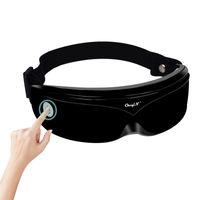 AugeMassager Vibration Magnetische Akupunktur-Therapie Massage Augenpflege Müdigkeit Stress Relief Goggles verbessern Protect Sehkraft 44 CX200720