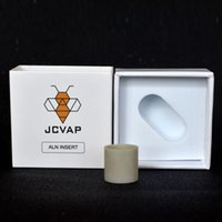 Nuovo arrivo JCVAP ALN INSERTO INSERTURA IN ALLUMINIO Nitruore in ceramica in ceramica Inserire piatta per il vaporizzatore di cera di ricambio di picco atomizzatore