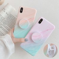 Gradient Marble Phone Case For Huawei P40 Pro P30 P20 Lite Mate 30 20 Pro Lite Folded Flexible Holder Soft Back Cover