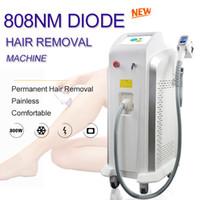 Micro canal 808nm Diode Laser Máquina Professional 808 Permanente Lazer Cabelos equipamentos de remoção pernas do cabelo do laser de diodo remover linha Bikini